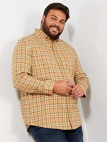 03c1a2f8c7 Soldes chemise grande taille homme, mode Grande taille homme | Kiabi