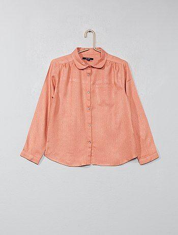 e52b5ca30574c Déstockage jusqu'à -50% Chemise, blouse Vêtements fille   Kiabi