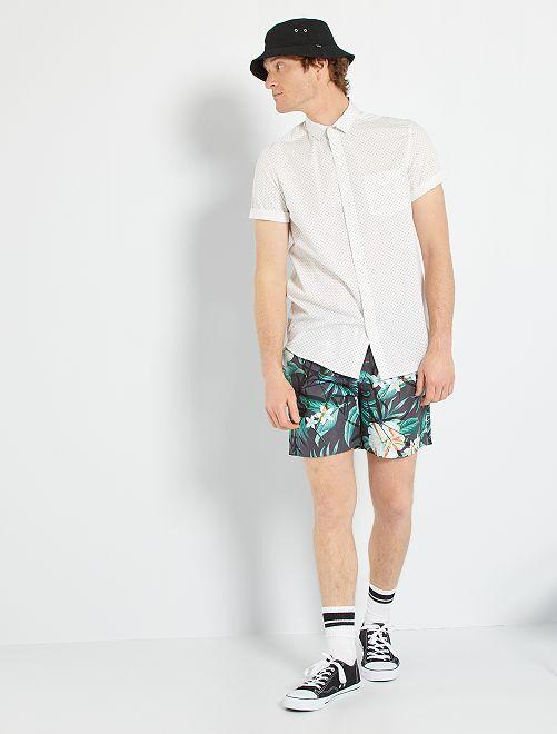 Chemise à pois                                                                                                                                                                                                                                                                 blanc/pois