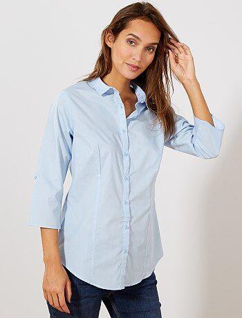 Vêtements femme pas chers   tout à moins de 10€ - mode Chemise ... f3fc0236bc27