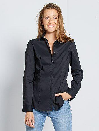 b5af4769e91b8 Soldes chemise femme   tunique, blouse, chemisier - mode Femme   Kiabi
