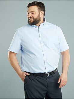 Grande taille homme Chemise comfort popeline micro motifs