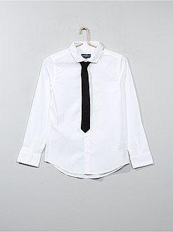 Chemise + cravate