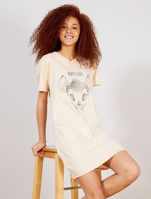 Chemise de nuit 'Bambi'                             rose Lingerie du s au xxl