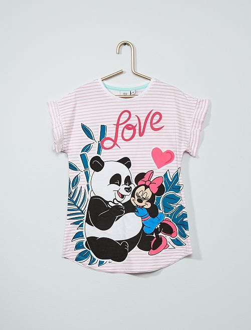 Chemise de nuit en 'Minnie Mouse' de 'Disne                                         rose