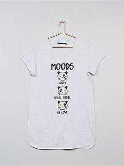 Pyjama, peignoir - Chemise de nuit imprimée - Kiabi