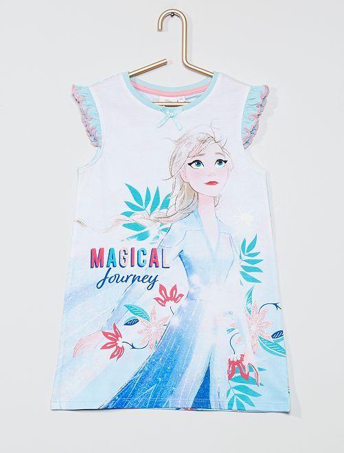 Chemise de nuit 'La Reine des neiges 2' 'Disney'                                         bleu