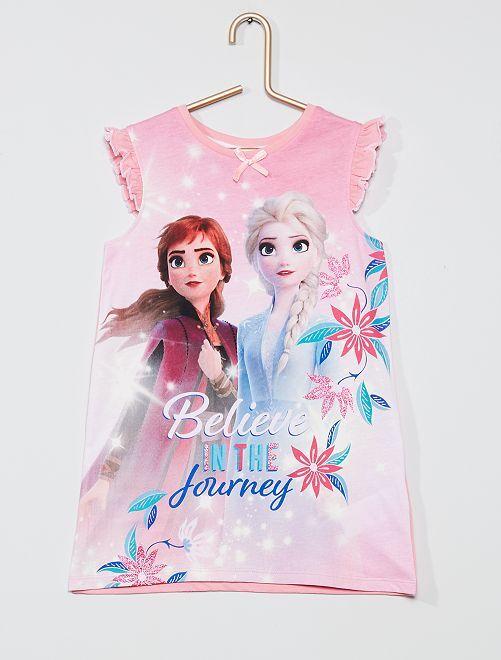 Chemise de nuit 'La Reine des neiges 2' 'Disney'                                         rose