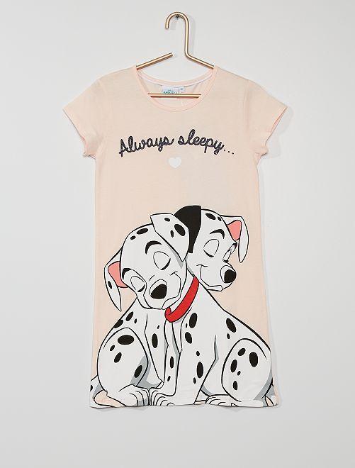 Chemise de nuit les '101 Dalmatiens'                             rose