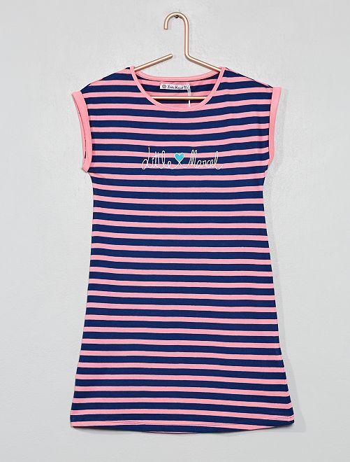 Chemise de nuit 'Little Marcel'                                         bleu marine Fille