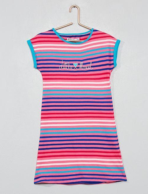 Chemise de nuit 'Little Marcel'                                         fuchsia Fille