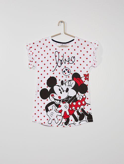 Chemise de nuit 'Minnie'                                         blanc