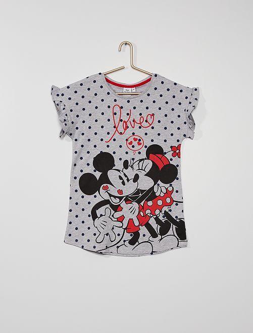 Chemise de nuit 'Minnie'                             gris