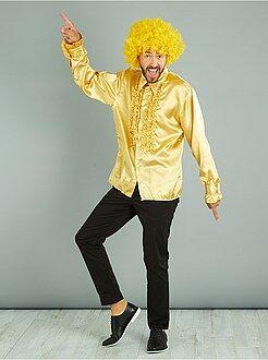 Déguisement homme - Chemise disco satinée - Kiabi