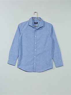 chemise gar on chemises mode pour enfants gar ons enfant gar on kiabi. Black Bedroom Furniture Sets. Home Design Ideas