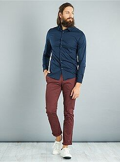 Chemise fitted stretch