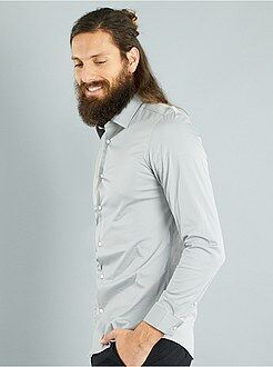 Chemise fitted stretch - Kiabi