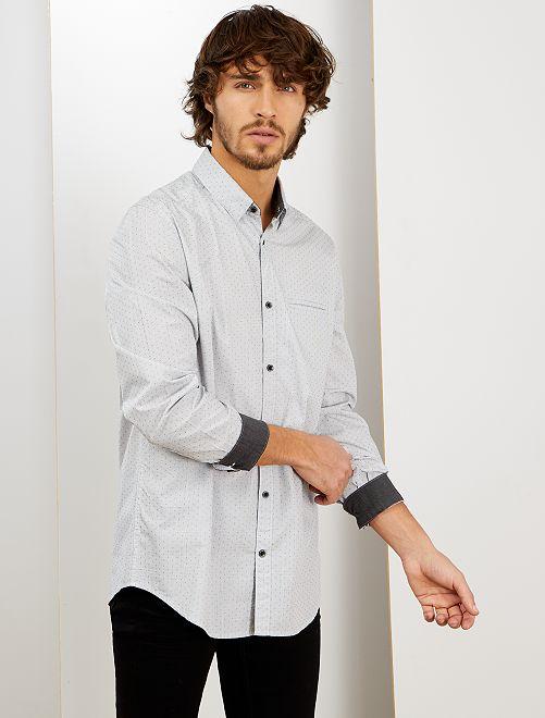 Chemise habillée                                                     gris clair