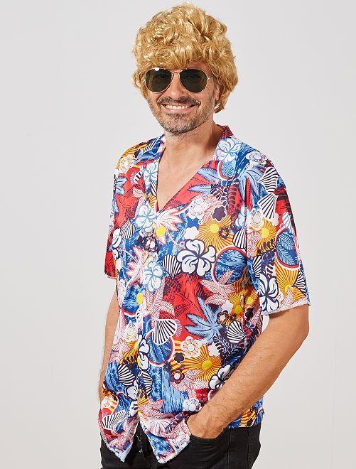 Chemise 'Hawaïenne'                             multicolore