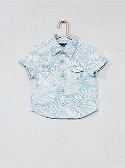 Chemise, blouse - Chemise imprimé feuillage - Kiabi