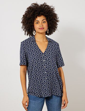 156876fc84a23 Soldes chemise femme | tunique, blouse, chemisier - mode Femme | Kiabi