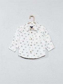 Chemise, blouse - Chemise imprimée en popeline - Kiabi
