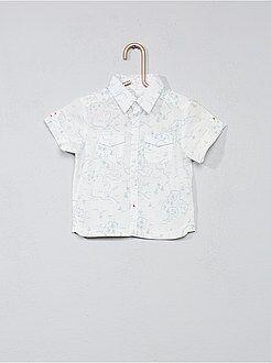 Chemise, blouse - Chemise imprimée poches poitrine - Kiabi