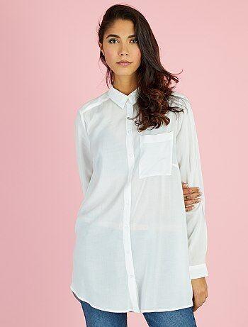Soldes chemisier, achat de chemises pour femme pas cher Vêtements ... ce91ab928ada