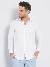 Chemise regular en coton oxford
