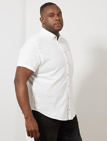 2a8b31a3e6d40 Soldes chemise manches courtes homme, chemisettes pour homme ...