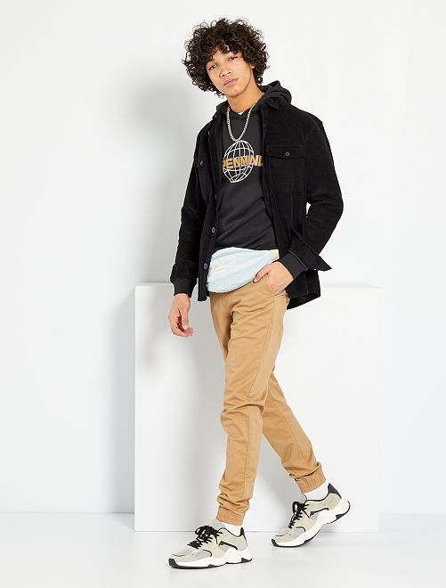 Chino coupe jogger                                                                 beige