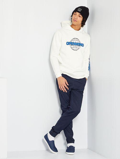 Chino coupe jogger                                                                 bleu marine