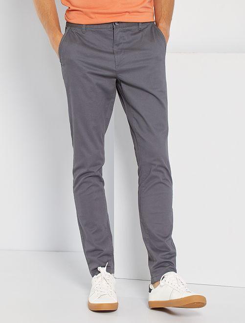 Chino skinny L30                                                                                                                                                                                                     gris