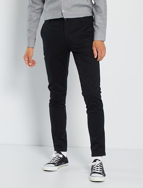 Chino skinny L30                                                                                                                                                                                                     noir