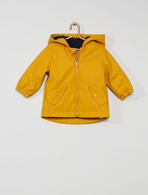 Ciré anti-pluie éco-conçu                                         jaune