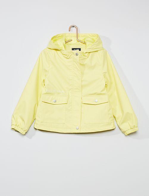 Ciré anti-pluie imperméable                                                     jaune