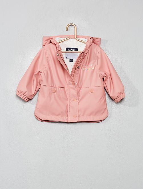 Ciré doublé de jersey                     rose