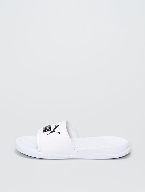 Claquettes de piscine 'Puma'                             blanc