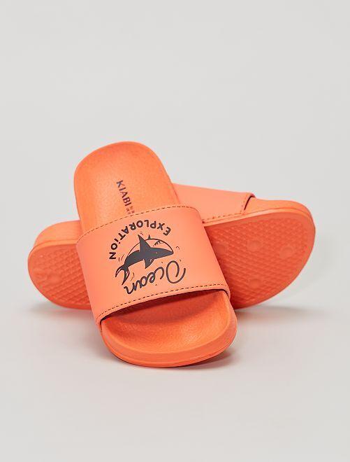 Claquettes                             orange