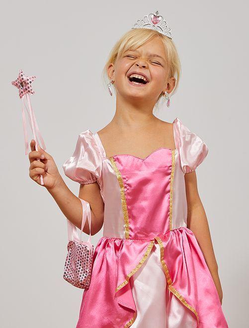 Coffret accessoires de princesse                             rose