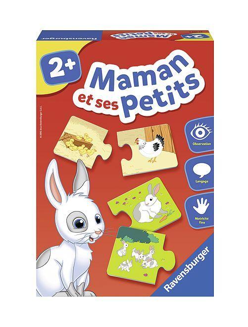 Coffret de 12 cartes-puzzles                             multicolore
