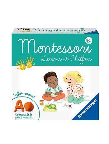 Coffret sensoriel Montessori