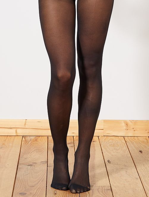 Collants 'beauty resist' semi-opaque 'DIM'                             noir