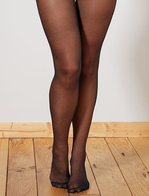Collants Body Touch 20D 'DIM'                             noir Lingerie du s au xxl