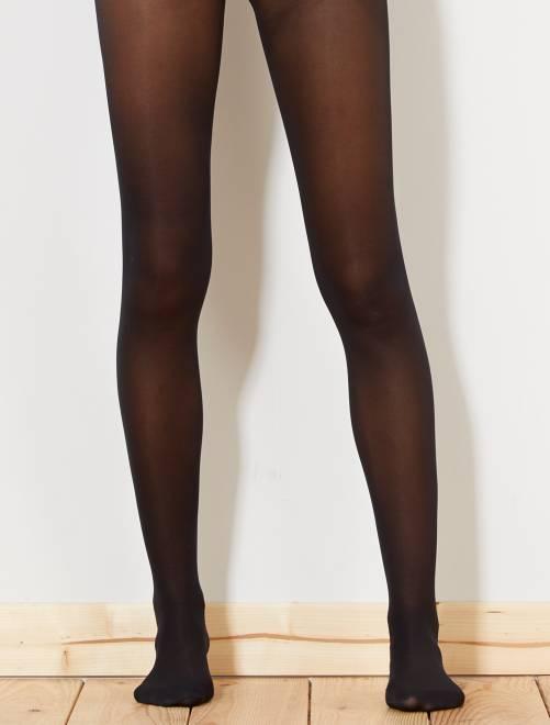 Collants DIM 30D spécial sneackers                             noir