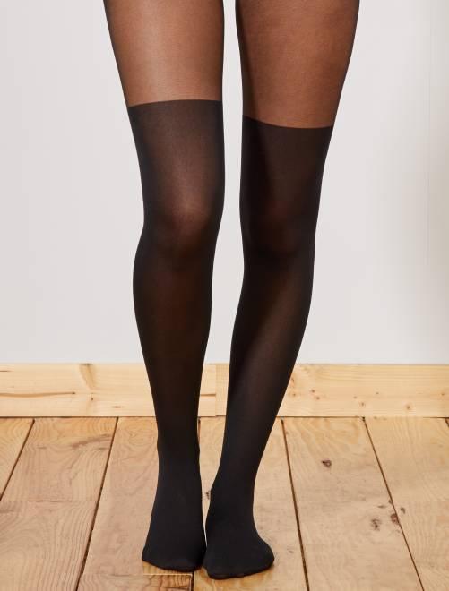 Collants effet cuissardes Style de 'Dim' 60D                             noir