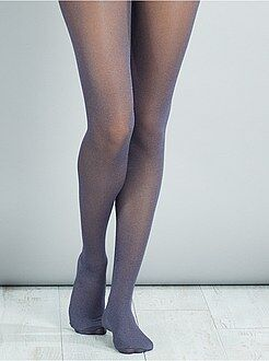 Collants - Collants fins chinés - Kiabi