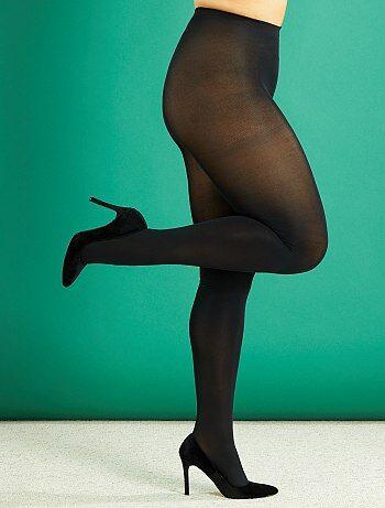 Grande taille femme - Collants légers 80D grande taille - Kiabi