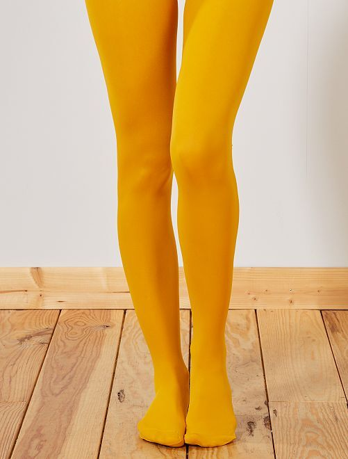 Collants 'Madame So Daily' de 'Dim' '40D                                                     ocre