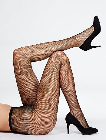 S noir collants channell rodriguez